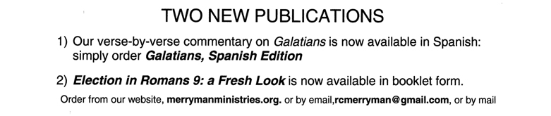 Two New Publications